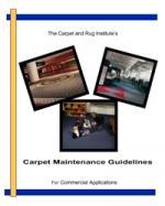 CRI Carpet Maintenance Guidelines